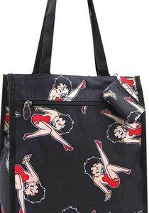 Betty Boop Kicking Leg Tote Bag